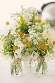 yellow and white flower arrangements fresh white and yellow flower