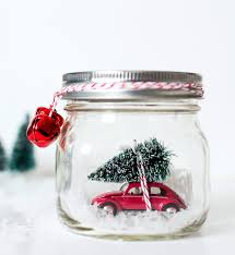mason jar snow globes vintage cars u0026 trucks globe snow and craft