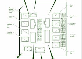 2004 nissan frontier main engine fuse box diagram u2013 circuit wiring