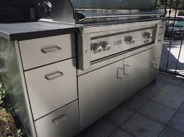 stainless steel outdoor kitchen cabinets marvelous kitchen makeovers modular stainless steel outdoor of