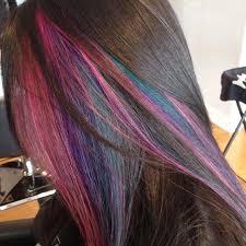 18 best hair hidden rainbow images on pinterest chalking hair