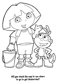 dora coloring pages for toddlers coler page dora coloring pages coloring pages to print