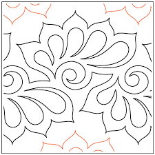 pantographs e2e quilting designs