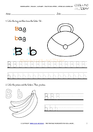 Writing The Alphabet Worksheets Alphabet Tracing Worksheets How To Write Letter B