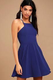 blue skater dresses women u0027s fashion clothing