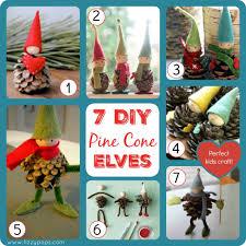 diy pine cone elves fizzy pops