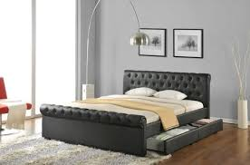 Beds Frames And Headboards Bed Frame With Headboard Inside Leather Amazing