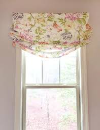 Pattern Roman Shade Valance Roman Shade With Valance Fathom Shades Shown In Smoke Also