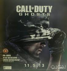how to make a cod ghost mask call of duty ghosts out on nov 5th according to leaked poster