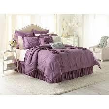 Purple Ruffle Comforter Lauren Conrad Bedding Bedding Compare Prices At Nextag