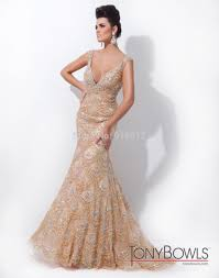 luxury deep v neck tulle with heavy beading turkish champagne
