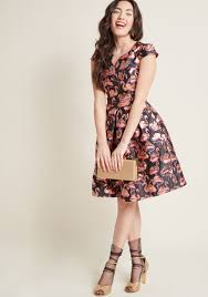 fit and flare dress personal boldness fit and flare dress modcloth