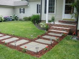 cheap garden paving diy front yard walkways diy front front yard