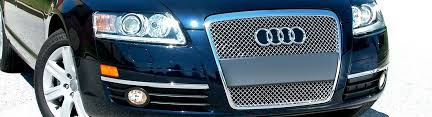 audi aftermarket grill 2007 audi a6 custom grilles billet mesh led chrome black