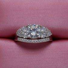 diamonique wedding rings diamonique wedding sets ebay