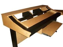Music Production Desk Plans Music Workstation Desk Plans Best Home Furniture Decoration