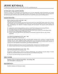 high resume summary exles 8 exle of resume summary precis format