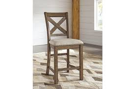 moriville counter height bar stool ashley furniture homestore