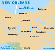 map usa la map usa new orleans major tourist attractions maps