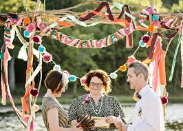 themed weddings a colorful summer c themed wedding every last detail