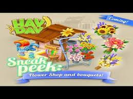 Flowershop Hay Day Sneak Peek 2 Flower Shop And Bouquets October Update