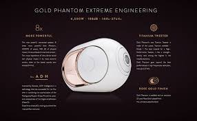 hifi the devialet phantom gold speakers full stereo pair review