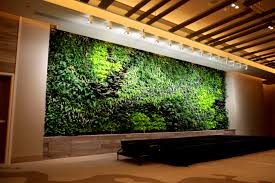 Quotes By Famous Interior Designers Indoor Green Wall With Amazing Pattern Of The Plants Design Living