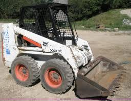 1993 bobcat 753 skid steer item 1001 sold august 31 con