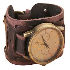 vintage leather bracelet watches images Retro leather watch spicy deals jpg
