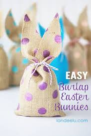Easter Door Decorations Sale easter craft idea easy burlap bunnies from easter crafts