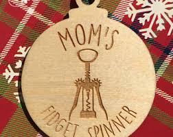 spinner ornaments etsy