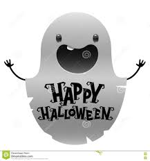 free halloween images on white background halloween cute cartoon ghost on white background stock vector