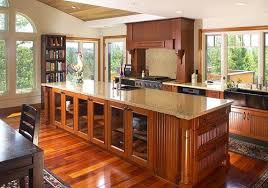 mission style cabinets cherry beadboard mission style kitchen