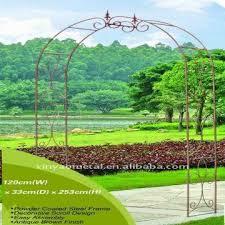 Wrought Iron Pergola by Garden Metal Pergola Wrought Iron Garden Arch For Garden