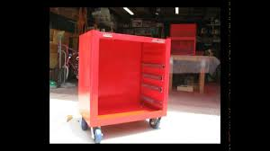 snap on tool storage cabinets snap on and mac tool cabinet restoration youtube