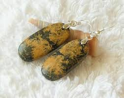 golden brown stones etsy