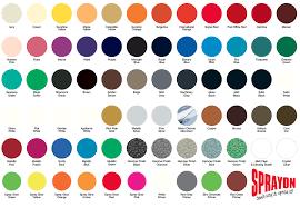 paint colour sprayon spray paints standard lacquer spray paint colour chart
