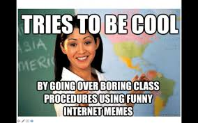 Powerpoint Meme - first day of school activity and meme powerpoint to go over syllabus