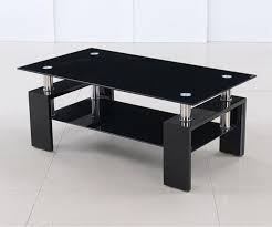 Black Glass Tables 3 Ideas For Decorating Black Coffee Table Home Decor And Design