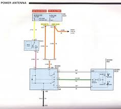gm power antenna wiring diagram gm wiring diagram instructions