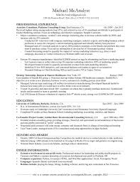 Best Hobbies In Resume by Sample Resume For Intermediate Accountant Templates