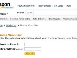 wedding wish list registry find someone s wish list by his or e mail address cnet