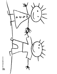 kids painting coloring pages hellokids com