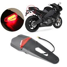bicycle rear fender light motorcycle led tail light bike motorbike rear fender taillight led