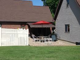 Awning Shed Sunsetter Awnings Quincy Il Doors N More