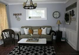 Farmhouse Sitting Room - modern farmhouse living room makeover hoosier homemade