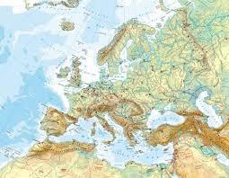 map northern europe scandinavia maps europe physical map diercke international atlas