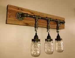 mason jar vanity light mason jar wall light chicagolights mason jar bathroom light fixture