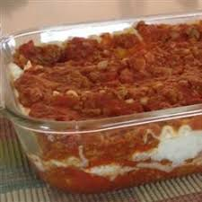 Lasagna Recipe Cottage Cheese by Lasagna With Cottage Cheese And Homemade Beefy Tomato Sauce