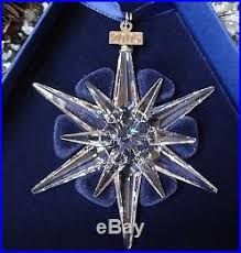 swarovski annual ornament snowflake